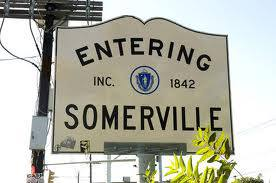 entering somerville
